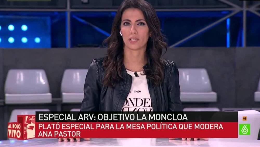 Ana Pastor, presentadora de El Objetivo