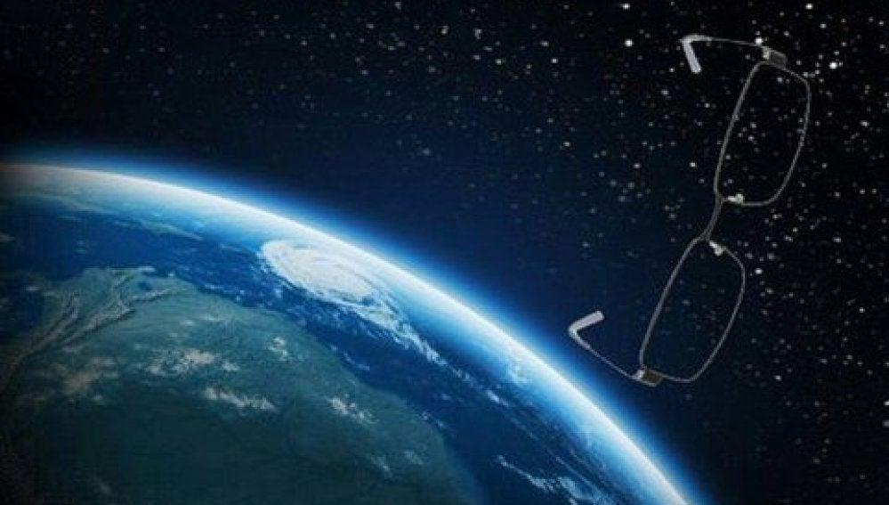 Gafas de Rajoy en el espacio