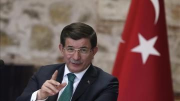 El primer ministro de Turquía, Ahmet Davutoglu