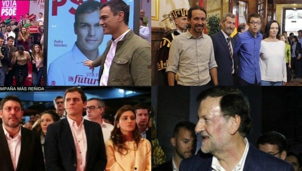 Los acontecimientos que han marcado la campaña electoral