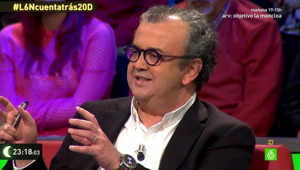 José Luis Roig en laSexta Noche