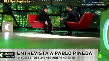 Pablo Pineda habla con Iñaki López