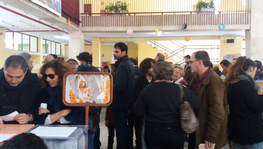 Colegio electoral donde ha votado Mariano Rajoy