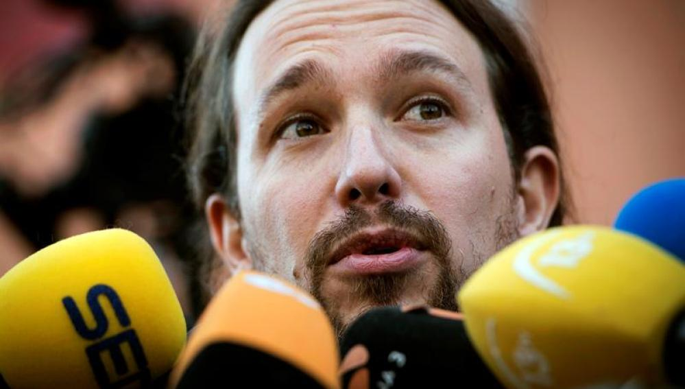 """Pablo Iglesias: """"En estas elecciones todos los votos cuentan y vamos a vivir una jornada histórica"""""""