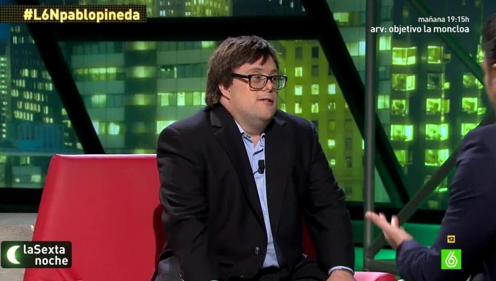 Pablo Pineda en laSexta Noche