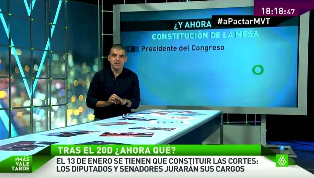 Manuel Marlasca analiza el calendario tras el 20D