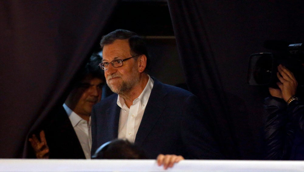 Mariano Rajoy, presidente y candidato del Partido Popular a la Presidencia del Gobierno