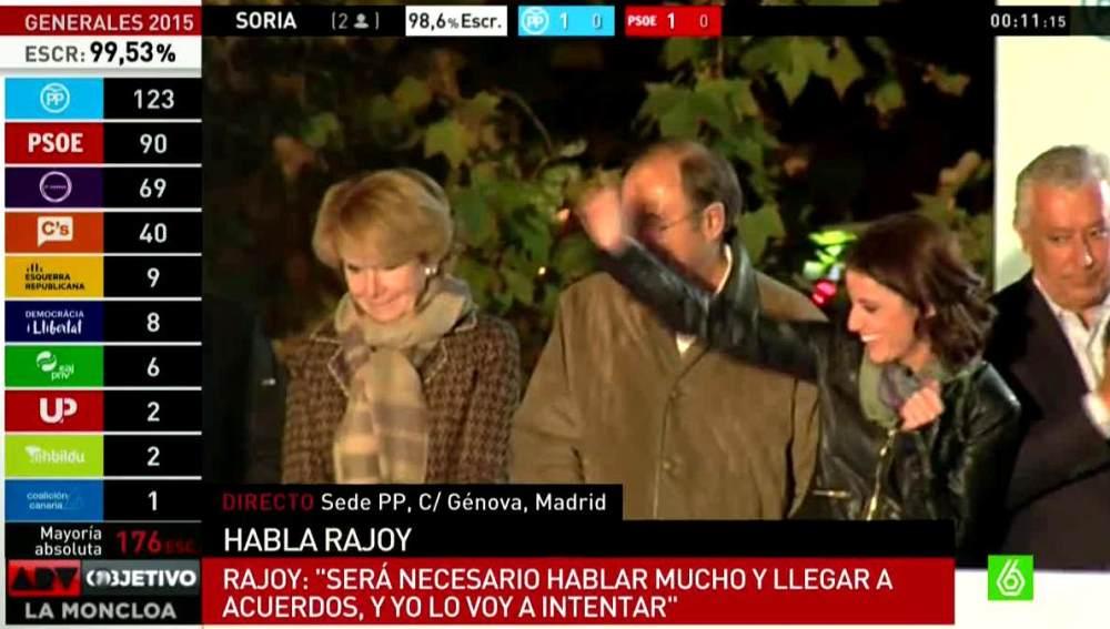 Esperanza Aguirre seria