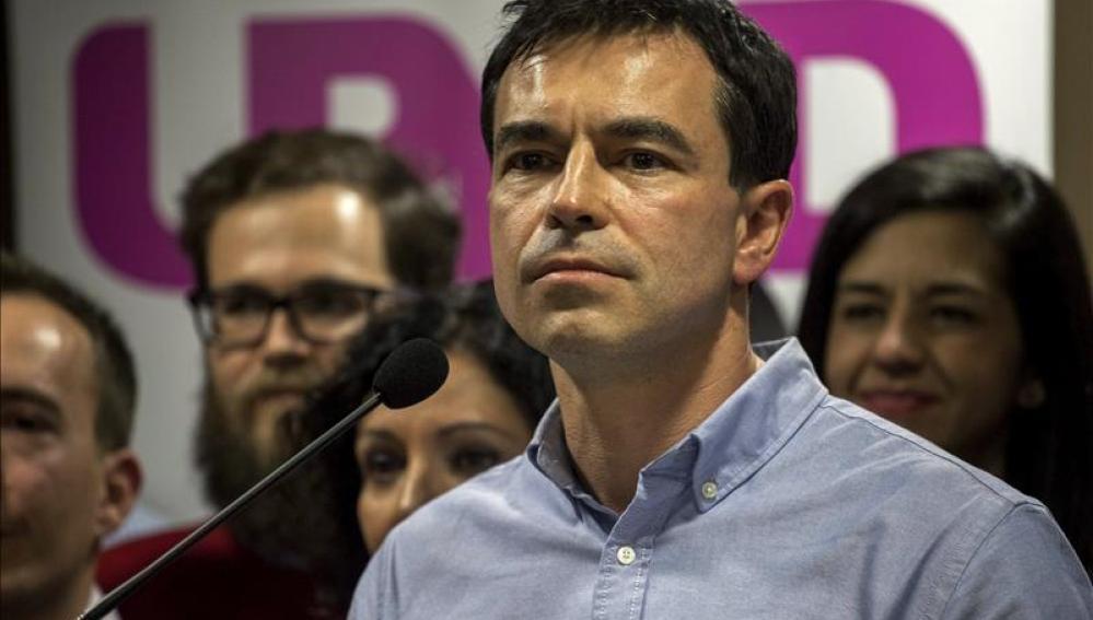 El líder y candidato de Unión Progreso y Democracia