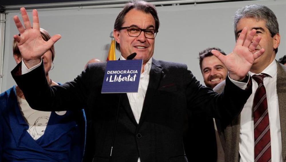 Artur Mas valora los resultados del 20D