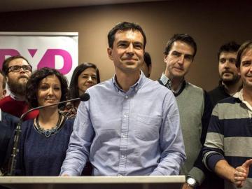 El líder de UPyD, Andrés Herzog