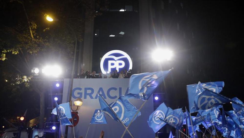 Sede del PP en Génova