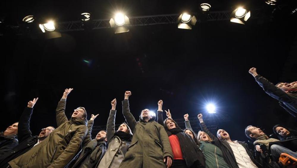 El candidato a la Presidencia del Gobierno por Podemos
