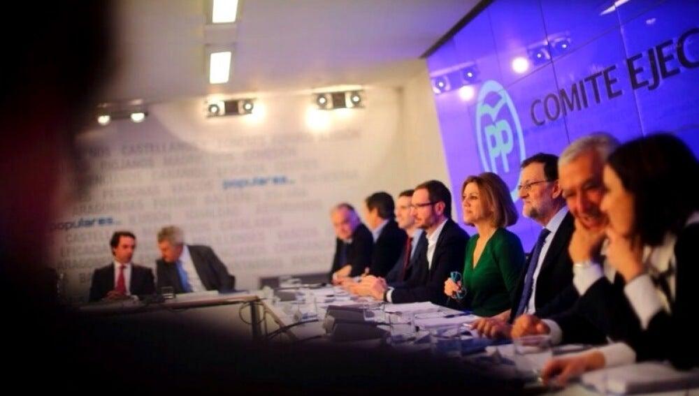 Reunión del PP en el Comité Ejecutivo Nacional