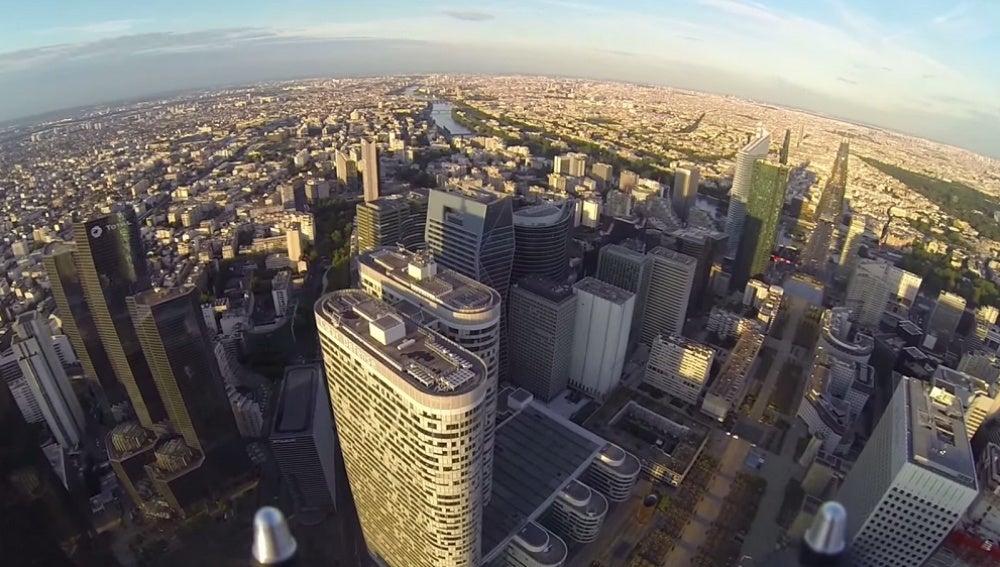 Vista aérea desde un dron