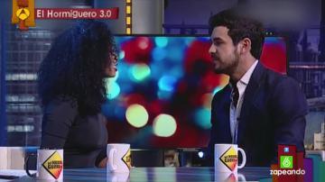 """Berta Vázquez, sobre su canción en bubi en El Hormiguero a Mario Casas: """"Estaba poseída por Bisila"""""""