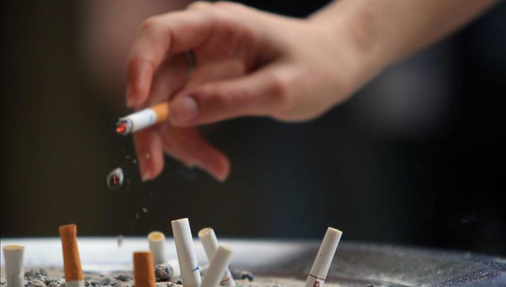 Imagen de un cigarrillo