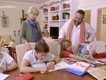 Mar quiere reorganizar las habitaciones de sus hijos