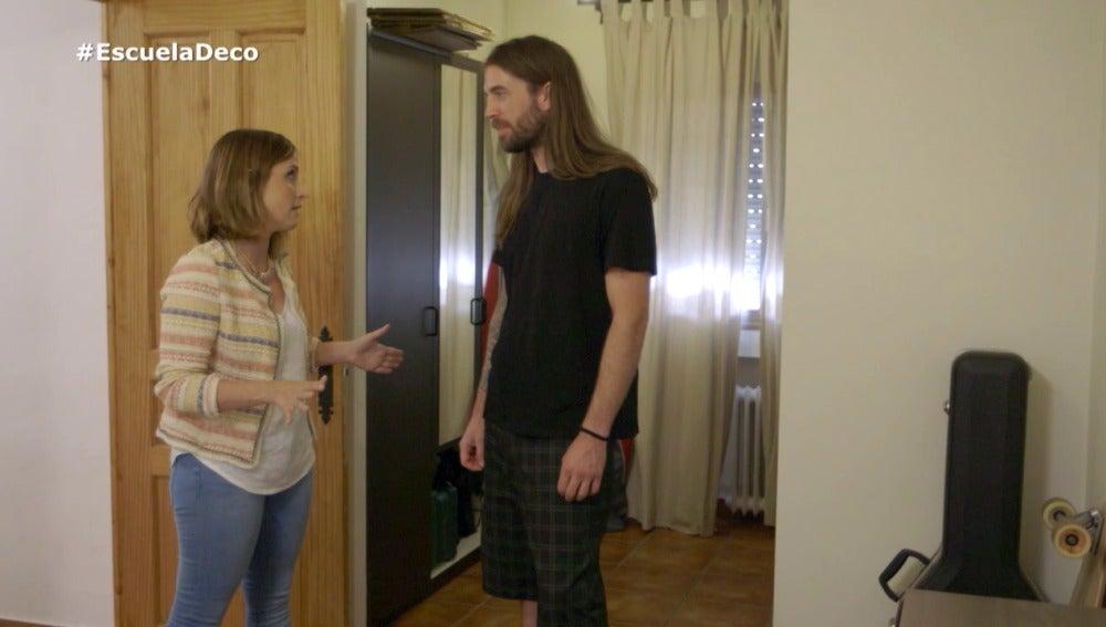 Luis busca reformar su cuarto