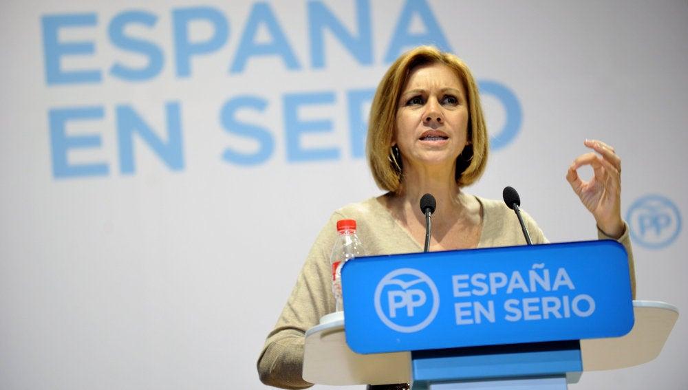 María Dolores de Cospedal, secretaria general del Partido Popular