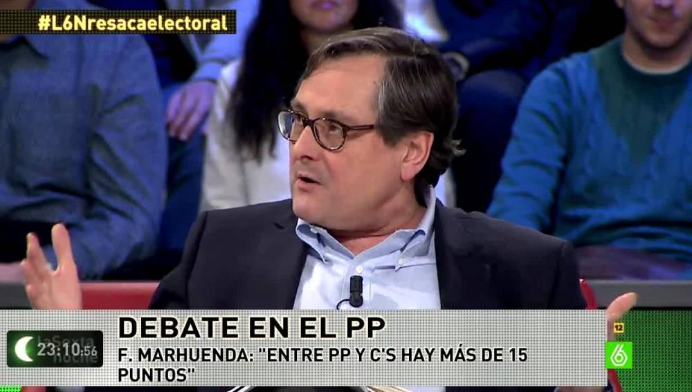 FRancisco Marhuenda en laSexta Noche