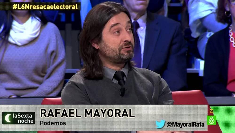 Rafael Mayoral en laSexta Noche