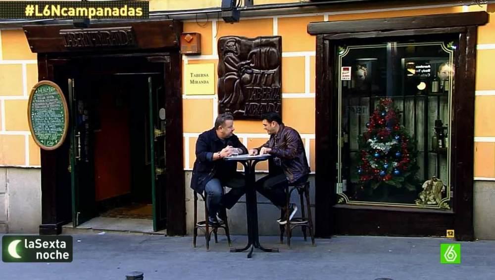 Alberto Chicote habla con Iñaki López