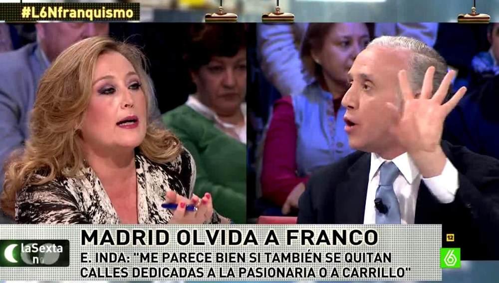 Elisa Beni y Eduardo Inda