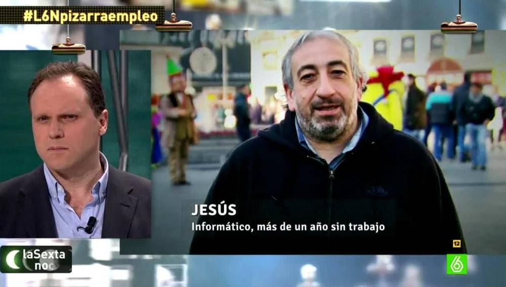 Jesús, informático, pregunta  a Daniel Lacalle