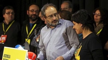 Antonio Baños comparece ante los medios
