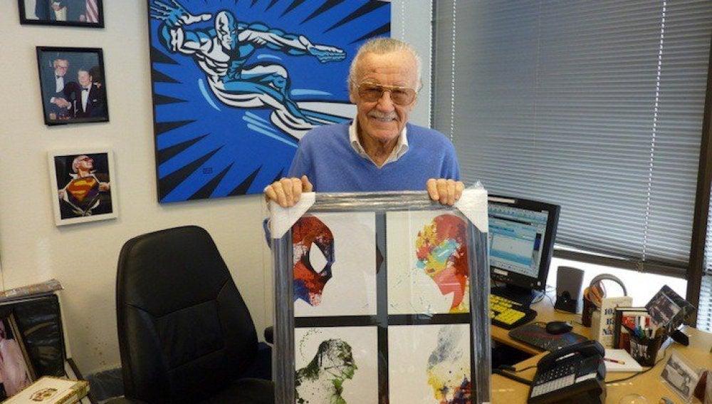 El famoso creador de superhéroes, Stan Lee