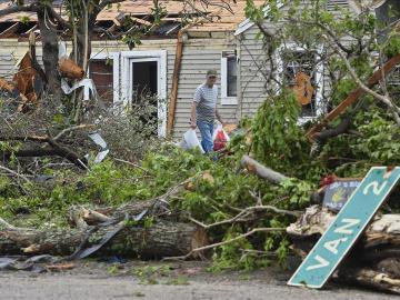 Desperfectos causados por el temporal en EEUU