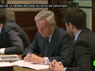 Pedro Gómez de la Serna recoge su acta de diputado