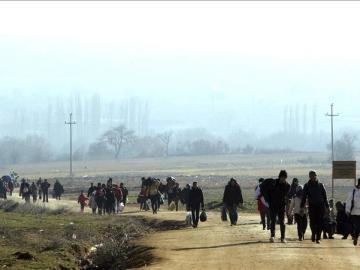 Refugiados de Siria, Irak y Afganistán