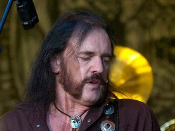 Lemy Kilmister, cantante de Motörhead, en 2007