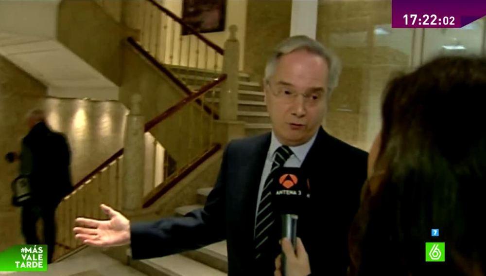 Pedro Gómez de la Serna en el Congresos