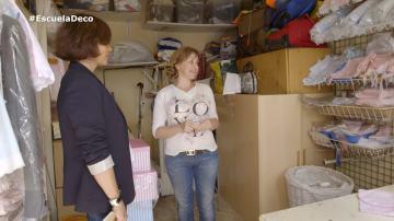 """Marián trabaja en el trastero de su casa: """"Ahora soy dueña de mi propio horario y estoy junto a mis hijos a diario"""""""