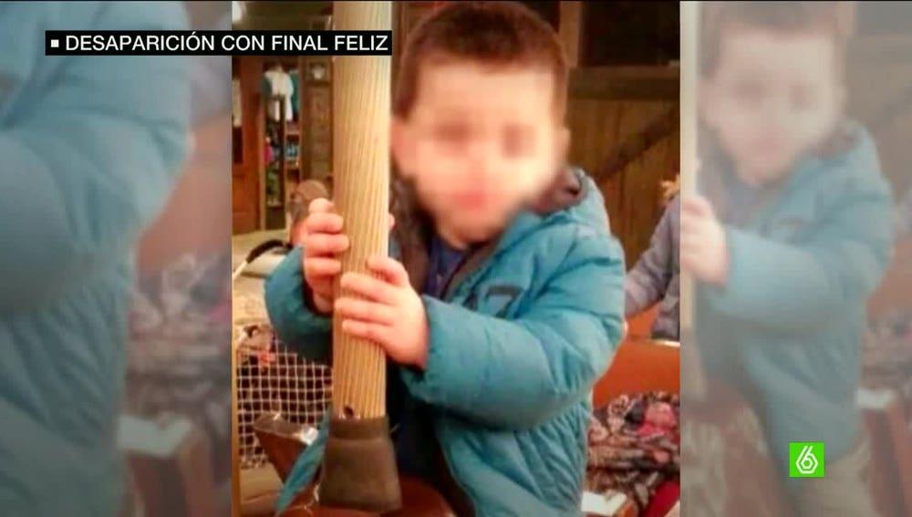 Jordi, el niño que desapareció en Girona