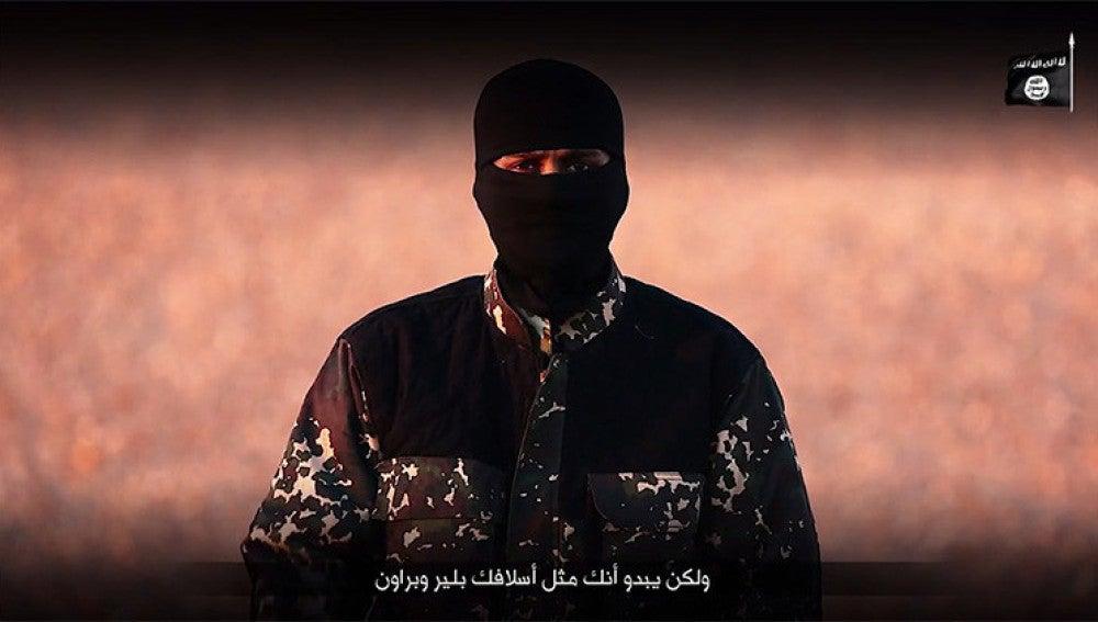 Imagen de un vídeo publicado por Daesh