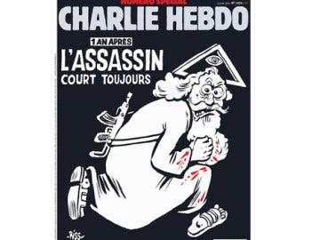Portada del número de enero de 2016 de Charlie Hebdo