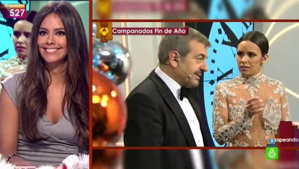 Cristina Pedroche comenta su vestido de Nochevieja