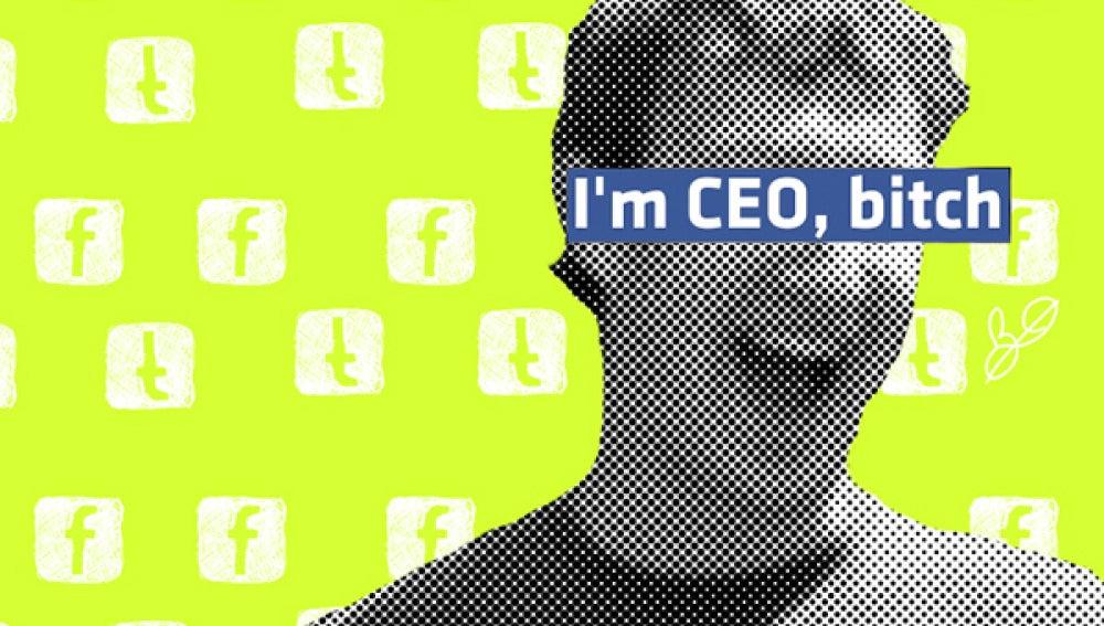 Una visión pop del jefe de Facebook