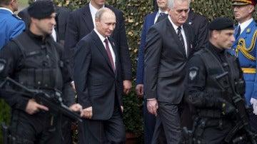Analizan la forma de caminar de Putin