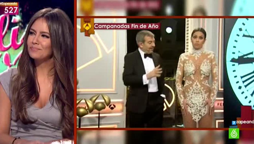 Cristina Pedroche desvela que su vestido está roto