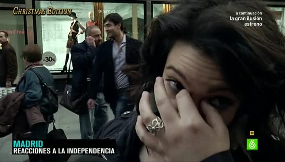 La reacción de los españoles ante la independencia