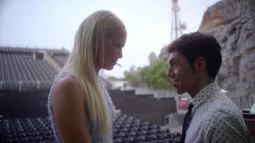 Valeria Mazza con El Mago Pop, en La Gran Ilusión