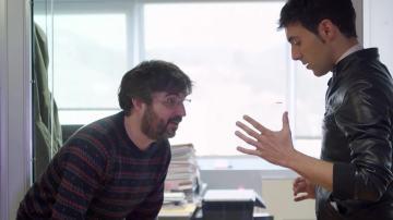 Jordi Évole con El Mago Pop, en La Gran Ilusión