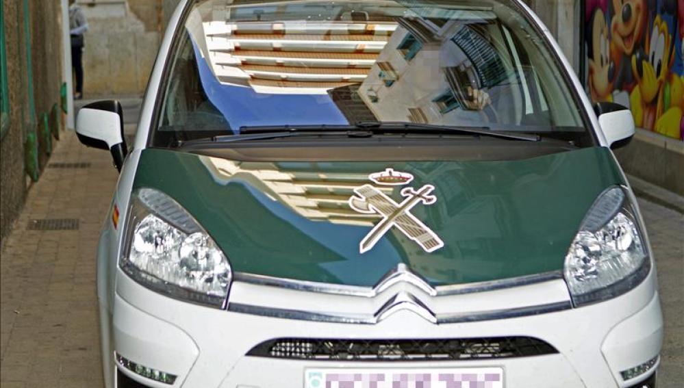 Imagen de un coche de la Guardia Civil