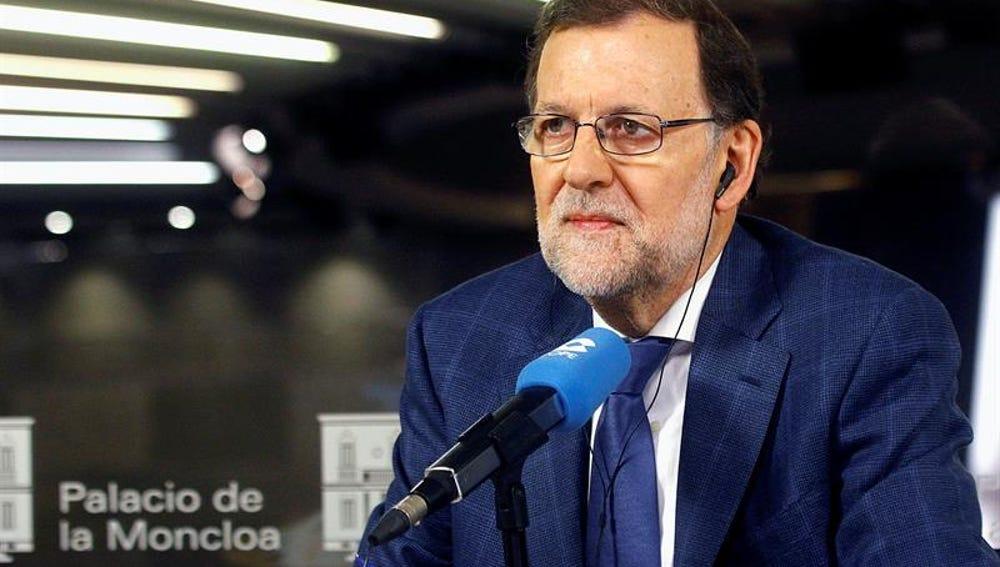 Fotografía facilitada por Presidencia del Gobierno, del jefe del Ejecutivo, Mariano Rajoy