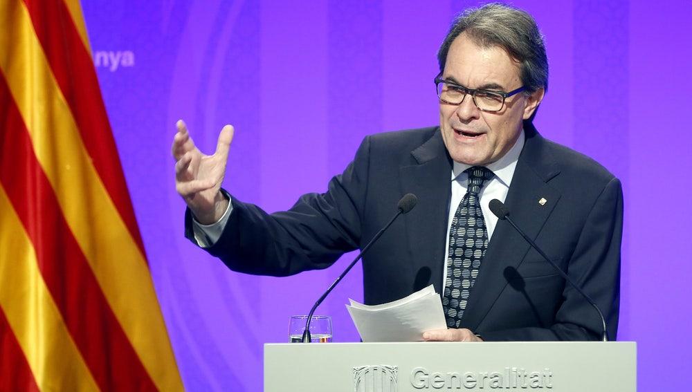 Artur Mas, president de la Generalitat en funciones